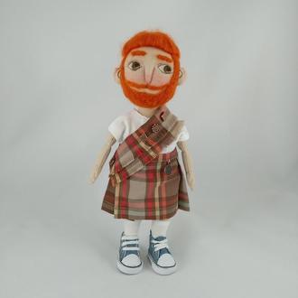Интерьерная кукла Шотландец