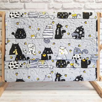 Накидка на станок (раму) Влюбленные коты-2
