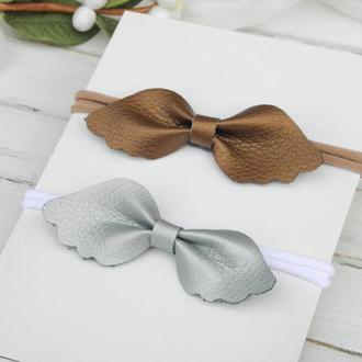 Повязка солоха для девочки в подарок, Заколки для малышки