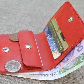 Красный небольшой кошелек K92-580