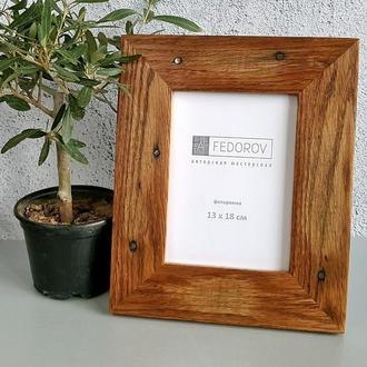 Рамка для фото из дерева