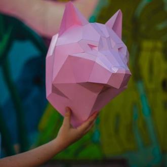 Розовый волк