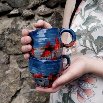 """Набір керамічних чашок """"Акцент"""", 2 шт."""