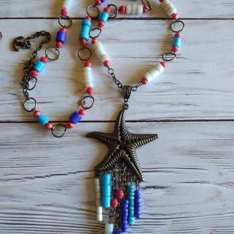 Колье Морская звезда