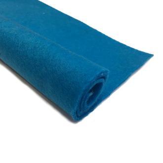 Фетр темно-голубой 1.3 мм 20*30 см   № 00998