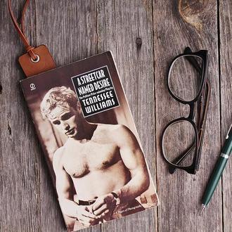 Книжная закладка из натуральной кожи