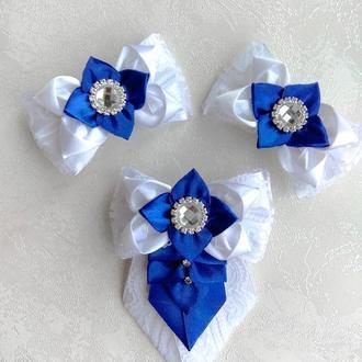Набор  галстук и бантики для школьници