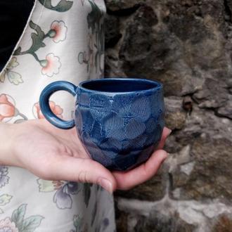 """Чашка керамічна """"Грані"""", об'єм 200мл"""