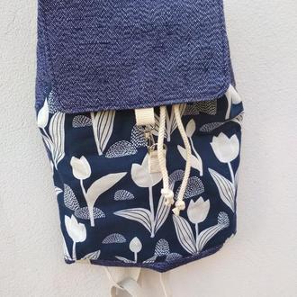 Рюкзак с цветочками
