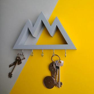 Настінна ключниця Big mountains Gray