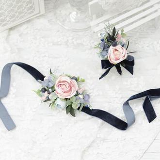 Комплект свадебных украшений: Navy Blue