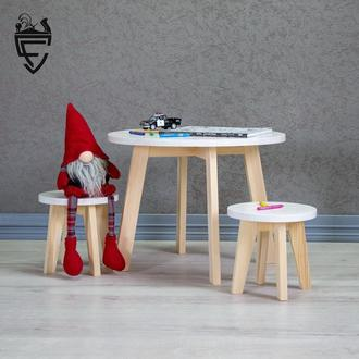 Детский набор стол + стул