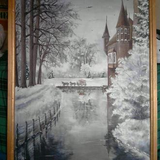 "Картина маслом ""Замок графа"""