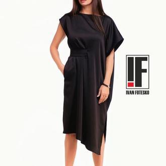 Платье-кимано/ассиметричный пояс арт.2637