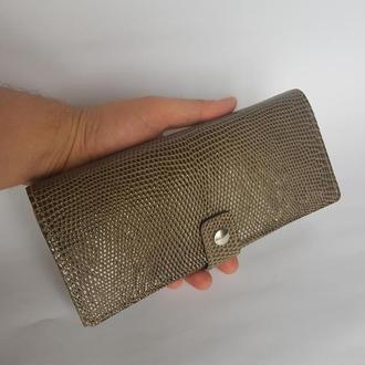 кошелек клатч из кожи варана