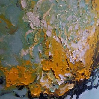 Интерьерная картина маслом на холсте