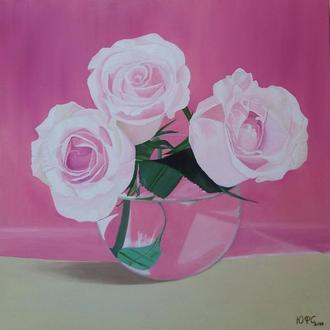 """Картина """"Рожева семфония"""""""