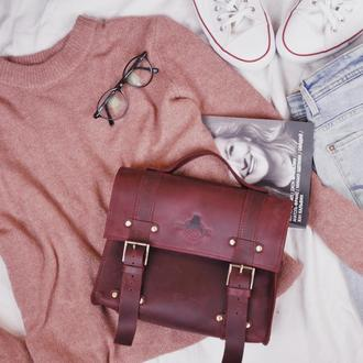 Кожаная сумка Хэйзи