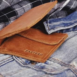 Кожаный кошелек Энзо