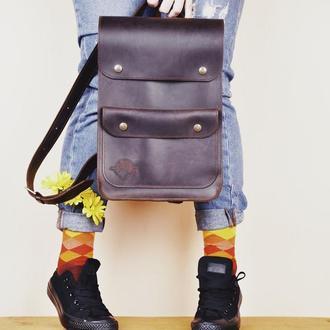 Кожаный рюкзак Бонни