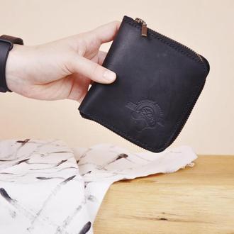 Кожаный кошелек Доминик