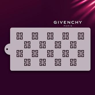 "Шаблон трафарета ""Givenchy"""