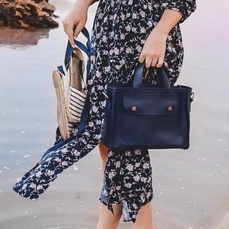 Кожаная сумка Аннабелл