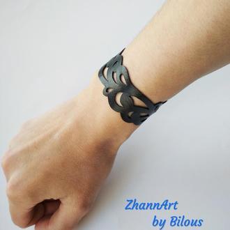 """Кожаный браслет """"Elizza"""""""