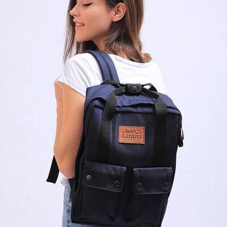 Джинсовый рюкзак Lizard Jeans «Universal»