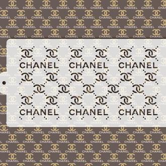 Брендированный трафарет Chanel