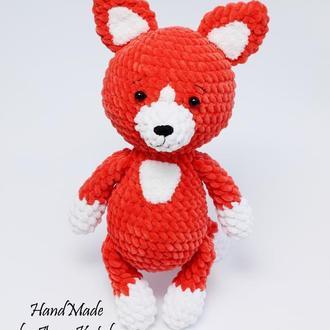 Іграшка плюшева лисичка. (Игрушка плюшевая лисичка)