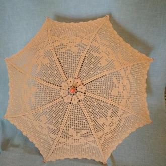 Персиковый зонтик
