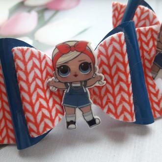 Бантики с куколками ЛОЛ