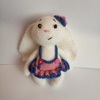 Зайчик-девочка, мягкая игрушка