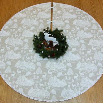 """Юбка под елку """"White Christmas"""""""