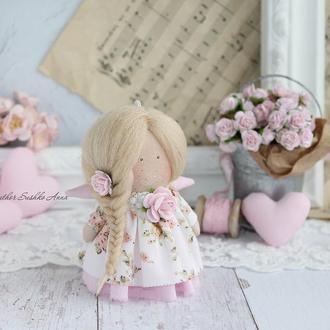 Кукла текстильная- ангел.