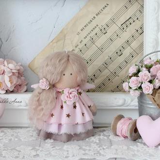 Интерьерная, текстильная кукла.