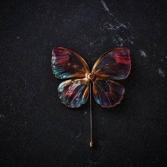 Волшебная брошь фея бабочка
