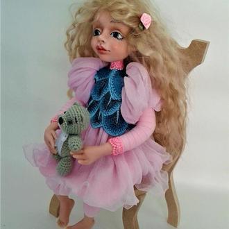 Интерьерная, коллекционная кукла