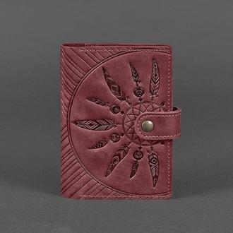 Обложка Для Паспорта 3.0 Инди Виноград - Бордовая