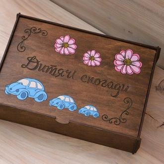Коробка для фото А4 формата