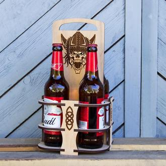 "Упаковка переноска для пива ""4"" Код 002.04.02"