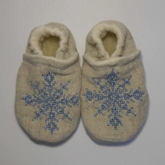 Домашнє взуття для дітей від 0 до 6 років