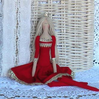 Кукла в стиле Тильда Принцесса 48см ВНИМАНИЕ БОНУС !!!