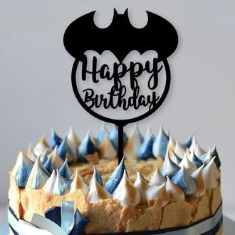 """Топпер на детский день рождения """"Бэтмен"""""""