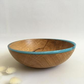 Декоративна миска з дерева