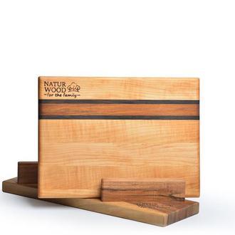 Разделочная доска из натурального дерева