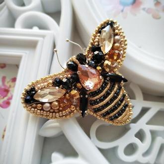 Брошь Королевская пчела