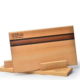 Деревянная кухонная доска Natur Wood (370 мм  220 мм х 15 мм)