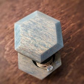 Шкатулка для свадебных колец.Шкатулка для колец из дерева. Коробочка для помолвки. Шкатулки .